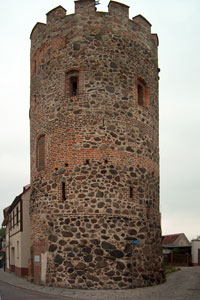 City fortification in Burg